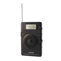 New DEGEN DE215 FM FML MW Radio Receiver Mini Handle Portable Three Bands A0906A Alishow