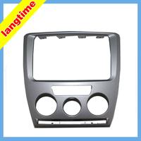 Car refitting DVD frame,DVD panel,Dash Kit,Fascia,Radio Frame,Audio frame for 2010 Skoda Octavia(combination),2din