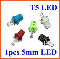Free shipping Wholesale 200 Pieces/Lot B8.5 led plug bulb Instrument lights