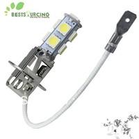 Free shipping 4pcs/lot 9 5050 SMD Car led H3 bulbs fog light 12v 1.8W white fog lamps