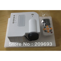 Mini Projectors LED Long Life Lamp LCD Dispaly VGA USB SD Built-in Speaker With Remote Controller