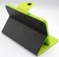 Belt Buckle Magnetic Smart Case Cover with Stand for iPad Mini Holder PU Leather Case with fedex Free Shipping