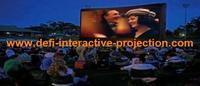 1.524m*10m  dark gray film color rear projection film for shop window