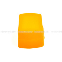 PIXCO Orange Flash Diffuser for Canon Speedlite 580EX II YongNuo YN-565EX YN-568EX YN560 III YN-560EX