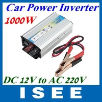 1000W Car auto Truck USB DC 12V to AC 220V Power Inverter Adapter Converter LED  Free Shipping