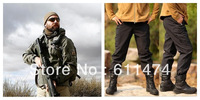 Outdoor Hunting Camping Waterproof Softshell jacket and pants for men  Hoodie jacket pants for men