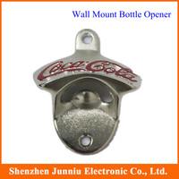 Bar Bottle Opener Crown Stationary cast iron Alloy Wall Mount Bottle Opener, Wall mounted Free Shipping
