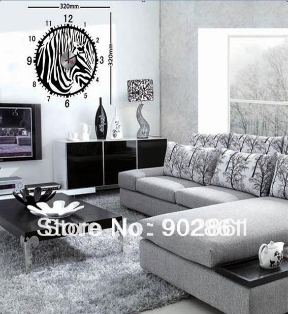 Promoci n de cebra decoraci n de la habitaci n compra - Decoracion en cebra ...
