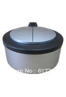 Ninestar mini (2L) plastic printing in silver color desktop type sensor dustbin, wholesale and retail! Free shipping.