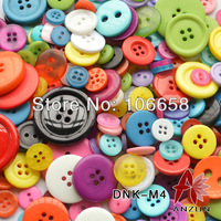 100g Mixed Button DNK-M4 Fashion Fastener for Craft And DIY Button Mixed Colour