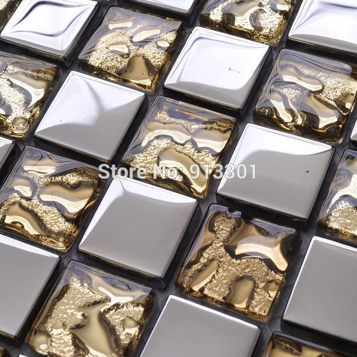 silver mosaic tile backsplash cheap crystal glass sheet bathroom tiles