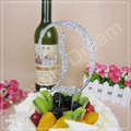 High Quality with LOW Price + Free Shipping, Rhinestone Cake Topper,Big Size Letter D, 3 pcs/lot, Mix 3 Different Letters Freely