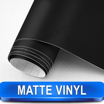 Black Flexible Matte  Vinyl Sticker Foil  stylize your car  / Size: 1.52 M Width by 30 M Length