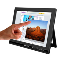 "LILLIPUT FA1000-NP/C/T 9.7"" 5-wire Resistive Touch Screen Monitor with HDMI, DVI, VGA & AV Input"