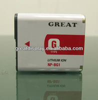 Free shipping+10pcs/lot,Digital Camera replacement Battery for NP-BG1 NPBG1 BG1For Cybershot DSC Series