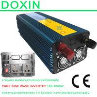 off grid Pure Sine Wave Power Inverter 3000Watt 12v dc to 220v ac