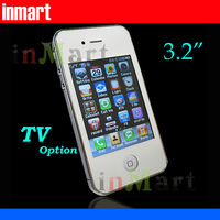 i5 3.2 Screen Dual SIM Quad Band TV option Unlocked Mobile Phone N9 N8 i5 F8 items (( HK post=SG post/Swiss post))