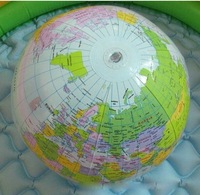 In stock Inflatable World Globe Classroom Pool Ball Geography Education Teaching Aid Map
