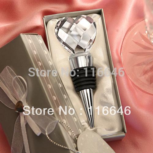 [해외]결혼식 공급 높은 품질의 선물 상자 크리스탈 하트 디자인 와..