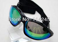 Aviator Pilot Cruiser Motorcycle Scooter ATV Goggle Eyewear T601 Colour Lens