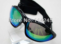 Aviator Pilot Cruiser Motorcycle Scooter ATV Goggle Eyewear T601 Colour Lens
