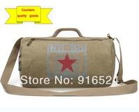 Free Shipping+2012 New Sports Bag, Canvas Barrel Bag ,Shoulder Bag,The Leisure Fitness Bag,GymBag+37*22*22CM