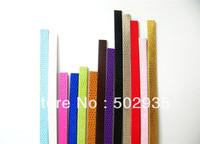 50 Strips snake-skin  1m length PU Leather Belt Fit 8mm DIY charms