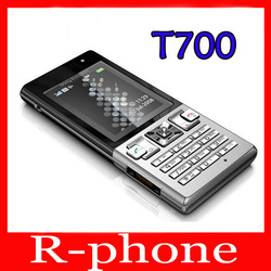 Free Shipping Sony Ericsson Original T700 Mobile Cell Phone 3G Bluetooth 3.15MP MP3 Games One Year Warranty(China (Mainland))
