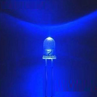 Free Shipping 1000pcs/lot Ultra Bright 5mm Round Blue LED Diode