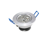 High Luminoous 3W Downlight LED Lamp in Aliexpress, 60% Energy-saving,Free Shipping