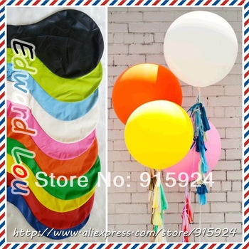 10pcs/lot  Wholesale Various Color   27 Inch  Big Fly Latex Balloons,Birthday Party Decoration Balloon,Free Shipping