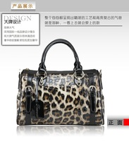 fasrovo 2013new style leopard print classics fashion handbag messenger bag free shipping