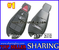% 100 Free Shipping  Blank Cover For  Chrysler Dodge Jeep Fobik Keyless  Entry  Remote  Key FOB Shell 2 Button #1 Hot Item