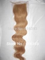 """Stock!!! Cheap Brazilian Body Wave Closure 16"""" #27 100% Brazilian Virgin Human Hair Lace Closure Free Shipping"""