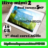 new arrival FNF ifive mini 2 5MP carema RAM 1GB ROM 16GB dual core RK3066 IPS1280x800 7inch Android 4.1bluetooth HDMI wifi