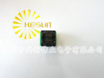 FREE SHIPPING SOP16 TO DIP16 SOP16 turn DIP16 SOIC16 to DIP16 IC socket Programmer adapter Socket 150mil