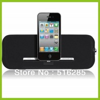 100% Guaranteed DS-1007 Portable Speaker System for IPOD,IPHONE with Docking Station Free Shiping
