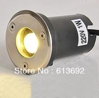 high brightness 90lm 1W Led Underwater light Ground Lawn Garden Floor Light DHL free shipping