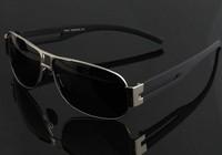 2014 News  Fashion Designer Pilot Sun Glasses   oculos de sol oversize men driving bike  polarized men's sunglasses glasses 8459