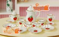 Free shipping !! A set of Handmade Porcelain Mini Tea charm pendant--alice in  wonderland  9