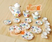 Free shipping !! A set of Handmade Porcelain Mini Tea charm pendant--alice in  wonderland