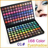 Professional 168 Full Colors Makeup Eye Shadow Cosmetic Pigment Eyeshadow Palette Makeup Kit