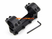 Rifle scope 25.4mm 1inch one piece mount high type 11mm with stop pin+Free shipping(SKU12050123)