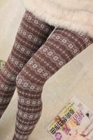 Stylish Women's Winter Leggings Thickening Lady's Trousers Speical Bamboo Fiber Female Pants Leg Slim Snowflake Ladies' Legging