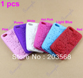 New Fashion 3D Flowers Case Cover TUP Skin Back cover For Iphone 5 5G 5 colors available