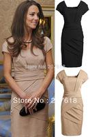 Sexy Women's Bandage Dress Kate Middleton Celebrity Dresses Lady Elegant Slim Office Dress Size S-XL