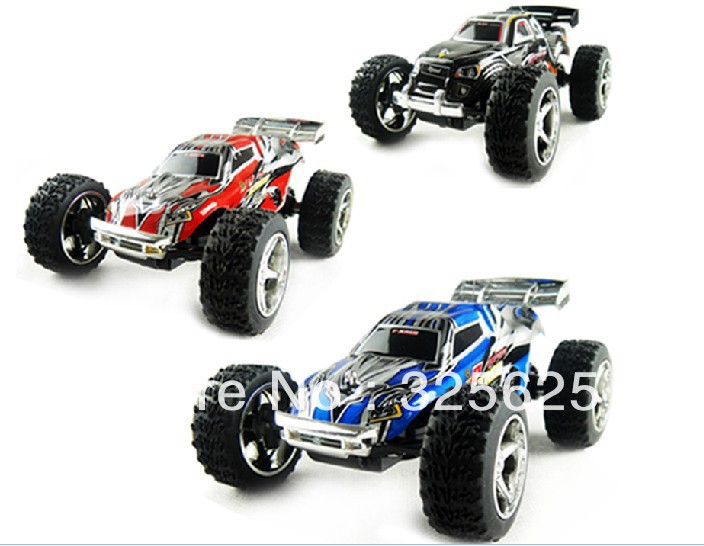NEW!! F03357 1:32 RTR WL 2019 Mini RC Remoto contorl racing Car Truck W/ Super Amazing high speed 20-30kh/M (2 colors) Toy(China (Mainland))