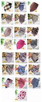 free shipping Fashion children scarf turban cotton bibs 42 * 63 * 42