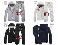 New thickening sport casual men's fall and winter clothes suit coat sweater Jogging Suits polo633