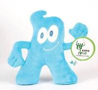Freeshipping 2010 Shanghai World EXPO Exposition gift souvenir cute sweet pattern HaiBao Hypol mascot Cotton linter toys P09178
